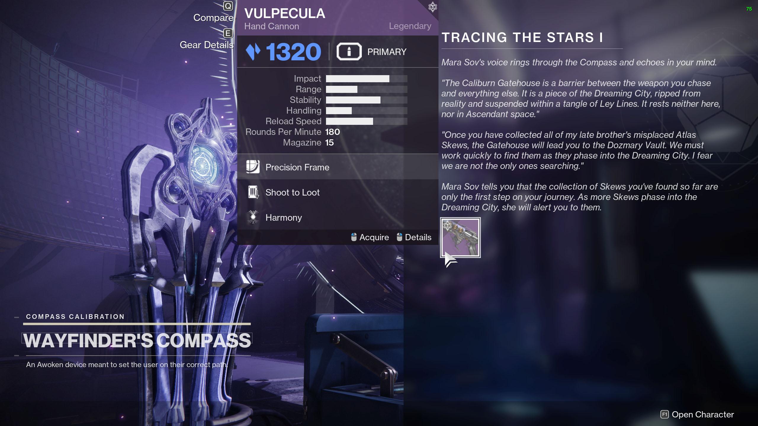 destiny 2 tracing the stars part 1