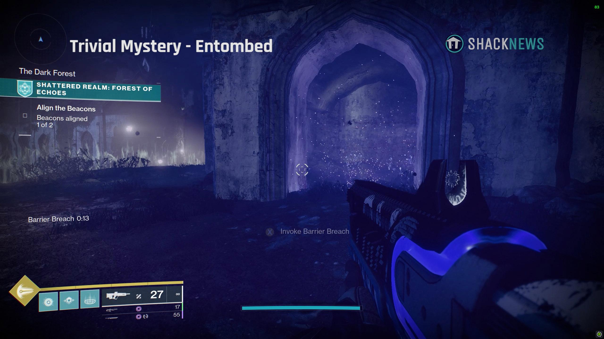 destiny 2 trivial mystery entombed