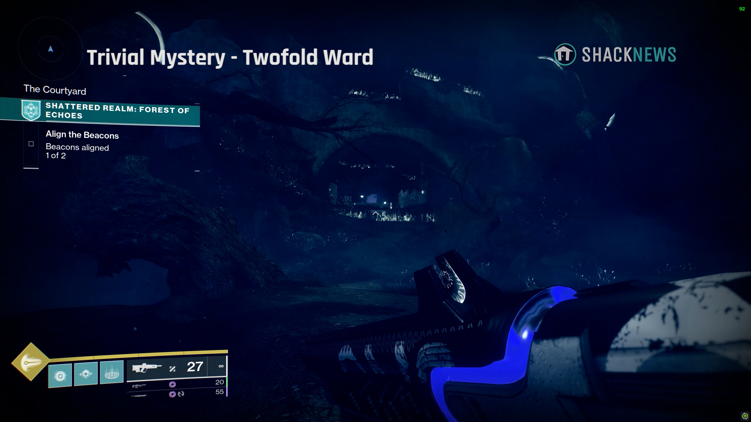 destiny 2 trivial mystery twofold ward