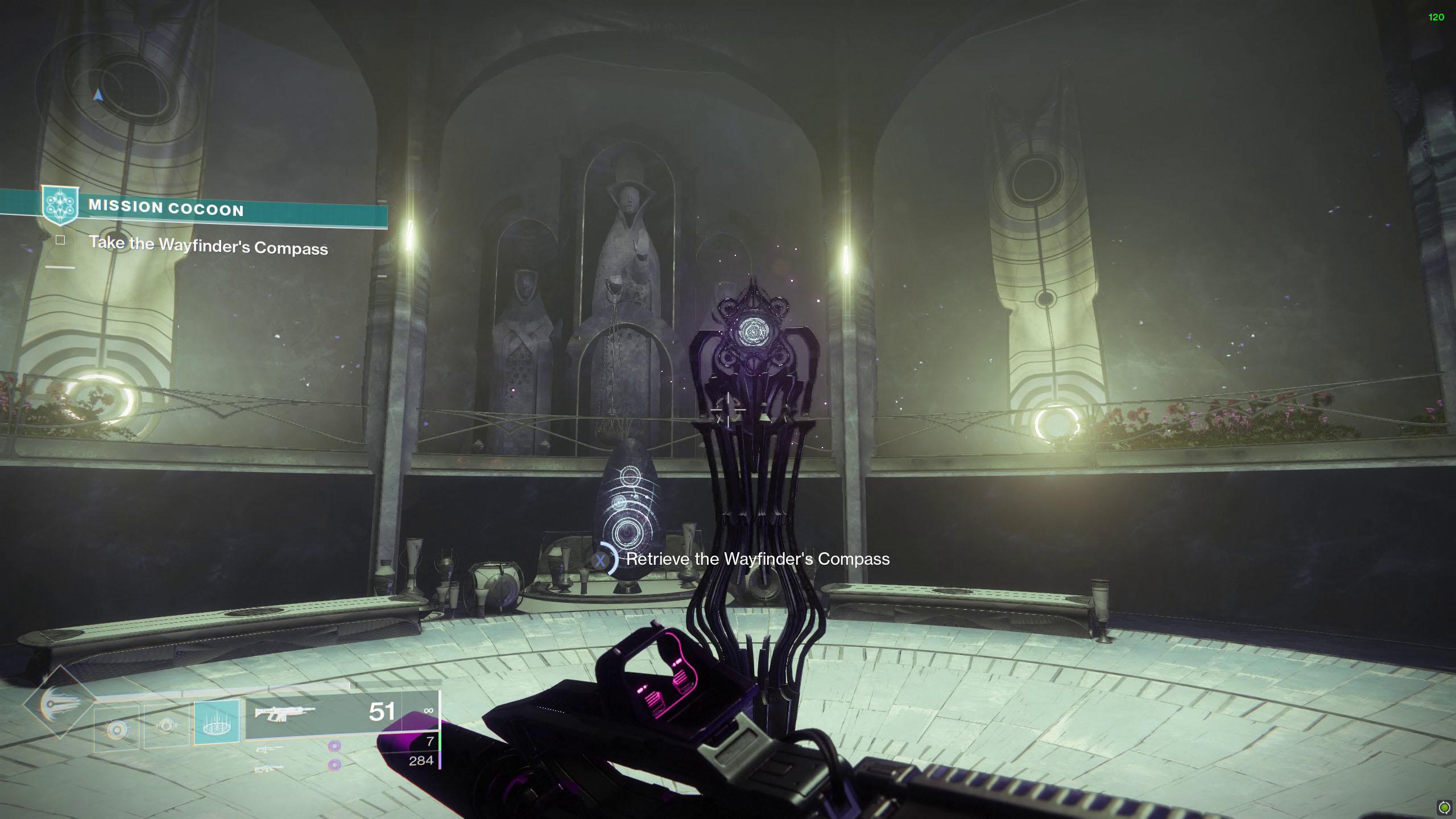 destiny 2 unlock wayfinder's compass