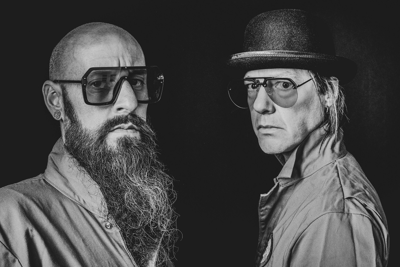 Cory Davis (left) and Robin Finck (right) are no strangers to darkly themed creativity and their interests and talents have seemingly aligned with EYES OUT.