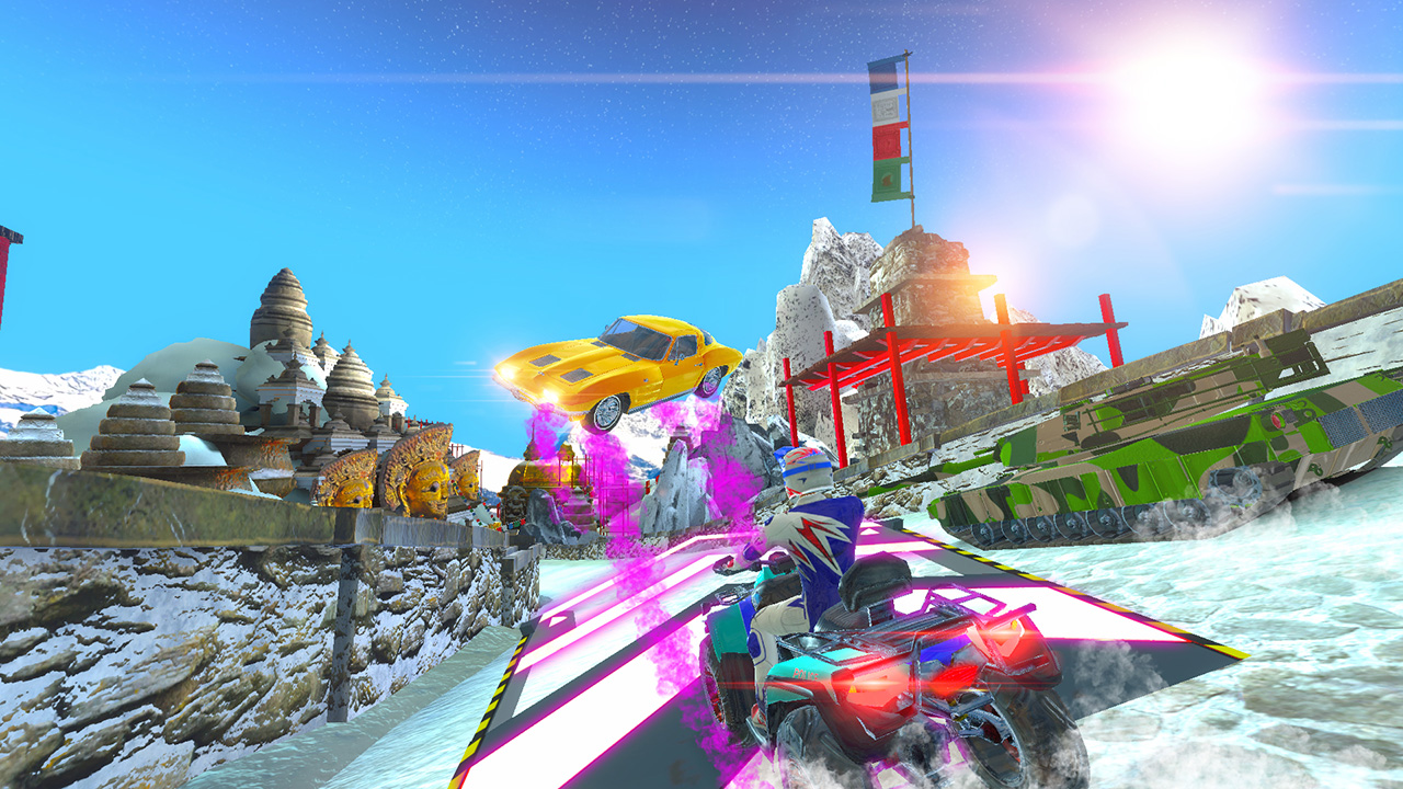 Cruis' Blast brings the series back to Nintendo consoles.