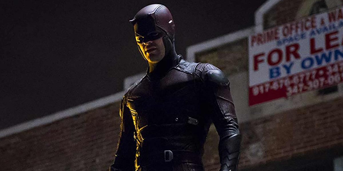 Image of Daredevil standing in a dark alley