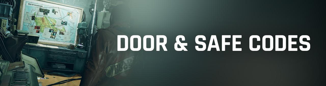 deathloop door and safe codes