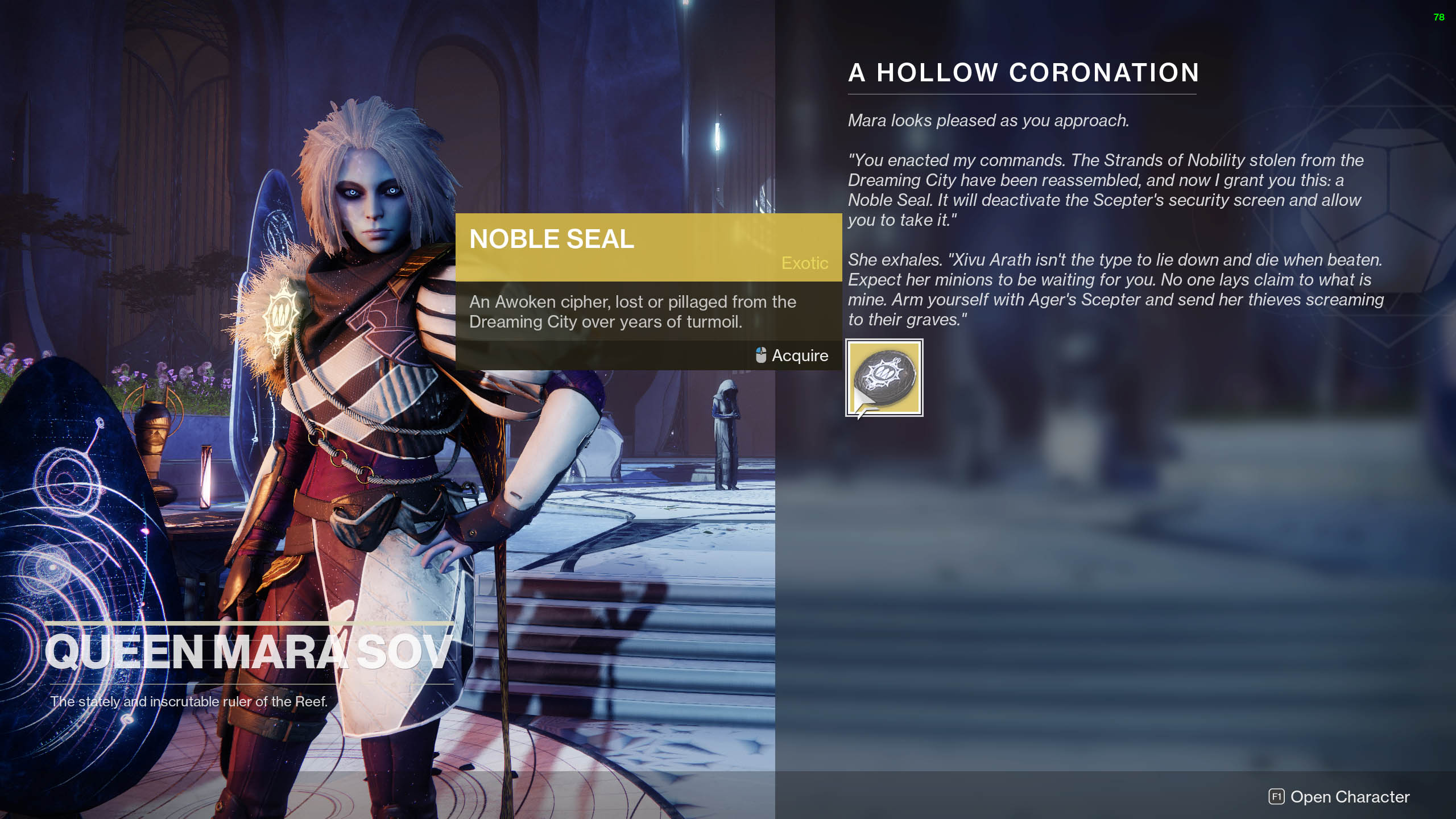 destiny 2 agers scepter noble seal