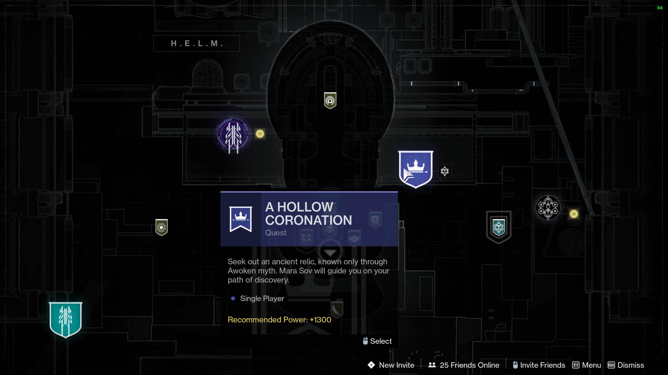 destiny 2 a hollow coronation