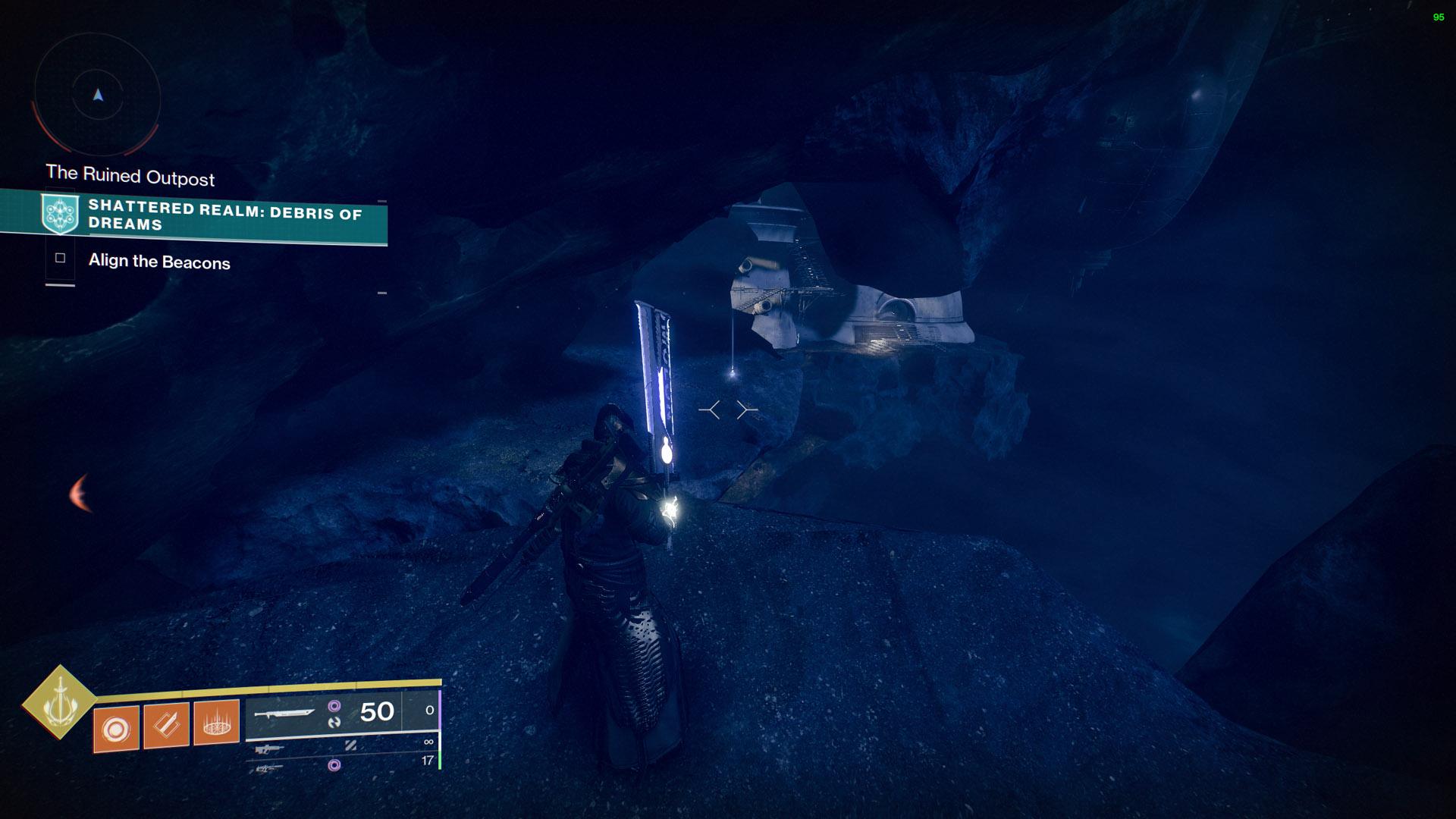 destiny 2 ascendant anchors shattered realm debris of dreams