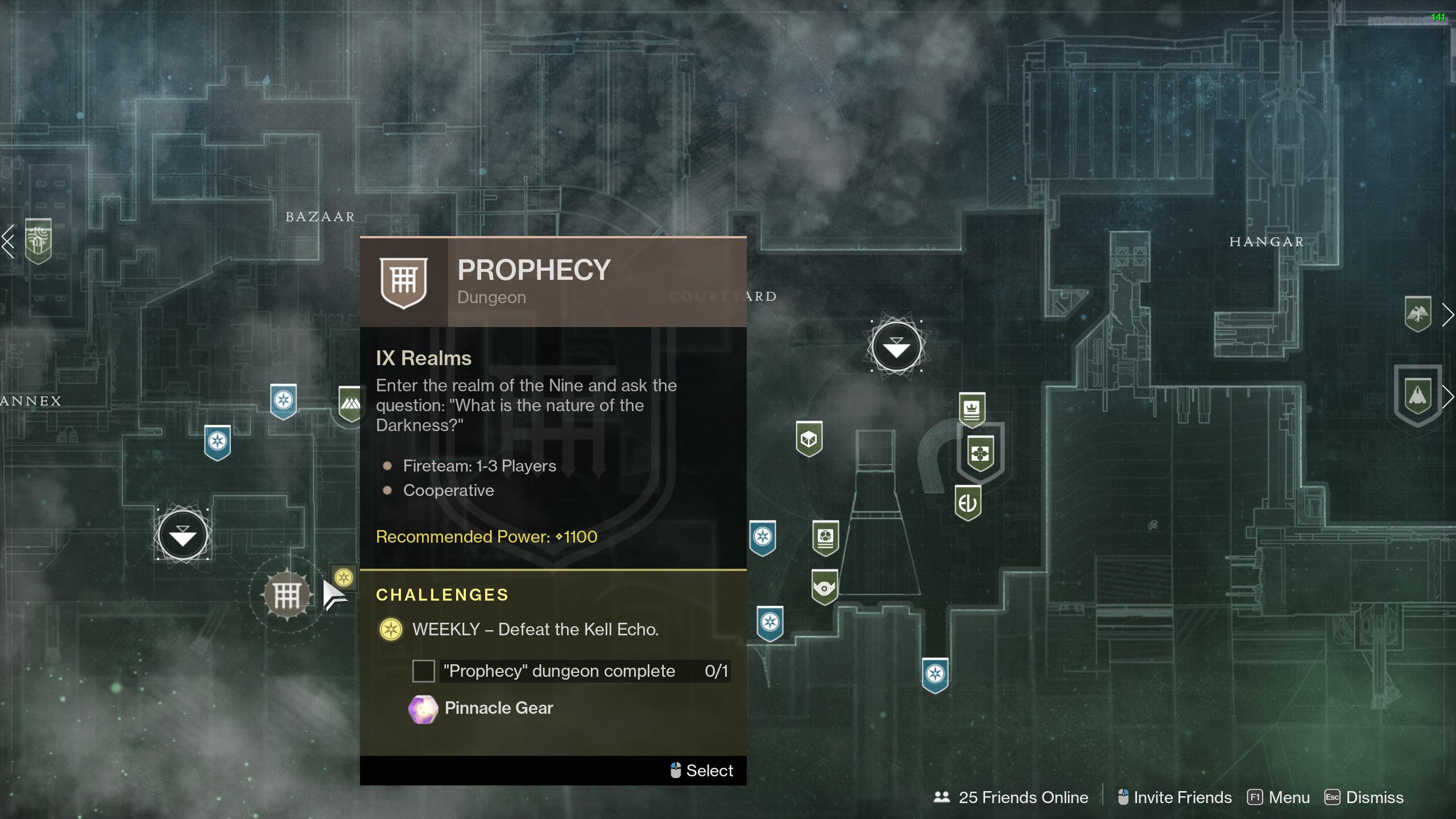 destiny 2 prophecy dungeon darkest before farming