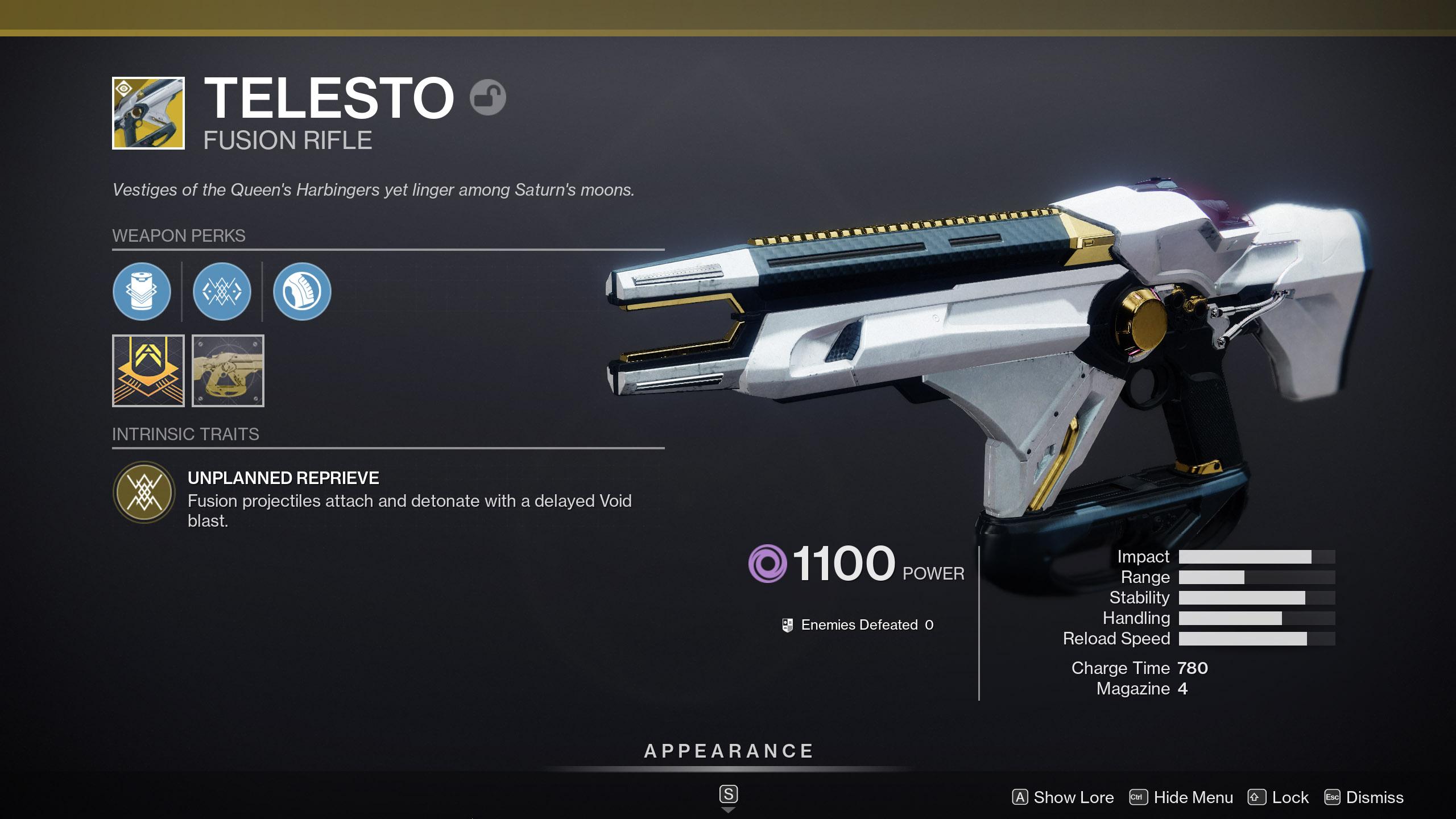 Destiny 2 Hotfix 3.3.0.3 Telesto