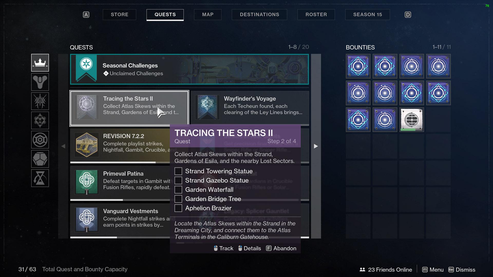 destiny 2 tracing the stars part 2 atlas skews