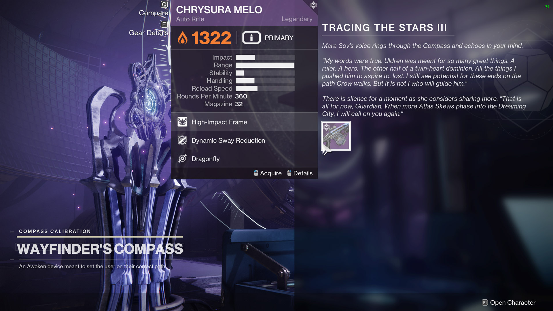destiny 2 tracing the stars part 3 rewards