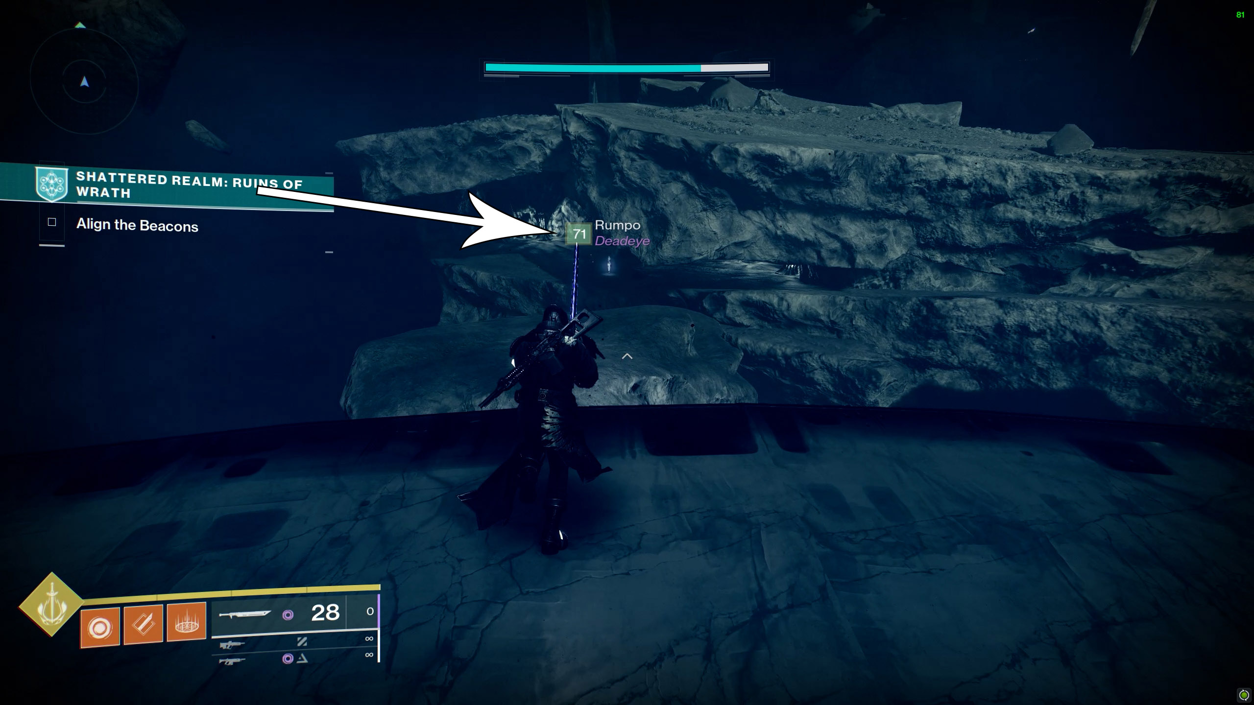 destiny 2 trivial mysteries ruins of wrath below