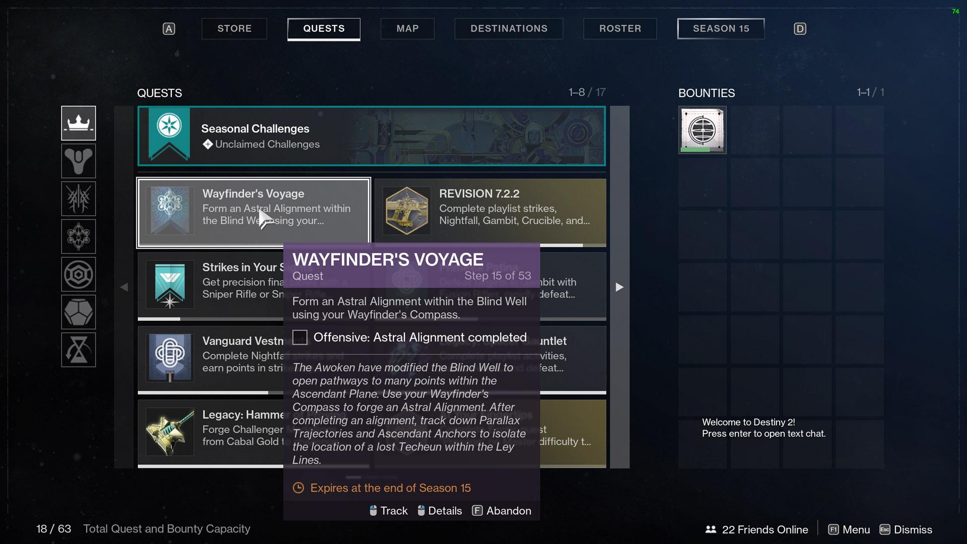 destiny 2 wayfinder's voyage part 3 astral alignment