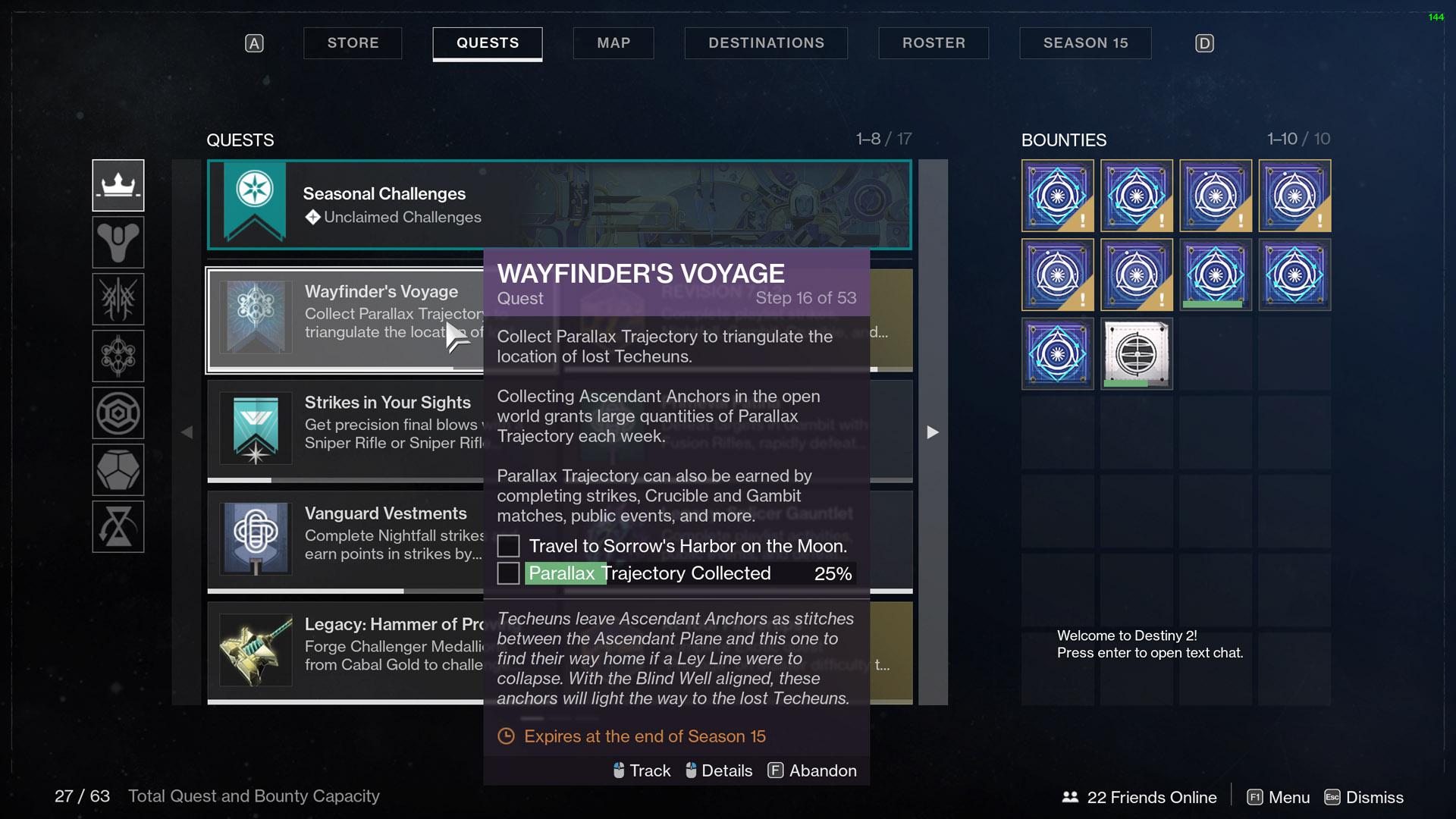 destiny 2 wayfinder's voyage part 3 moon sorrows harbor