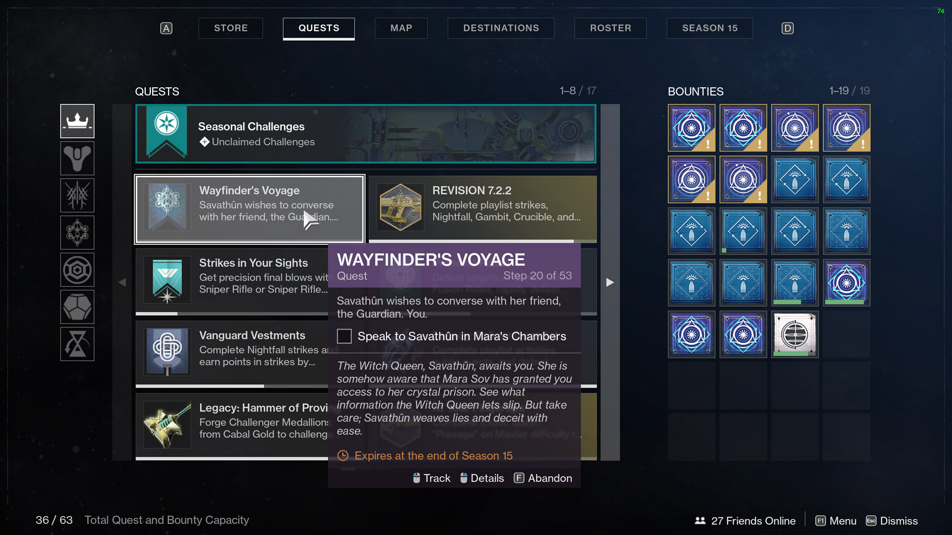 destiny 2 wayfinder's voyage part 3 savathun