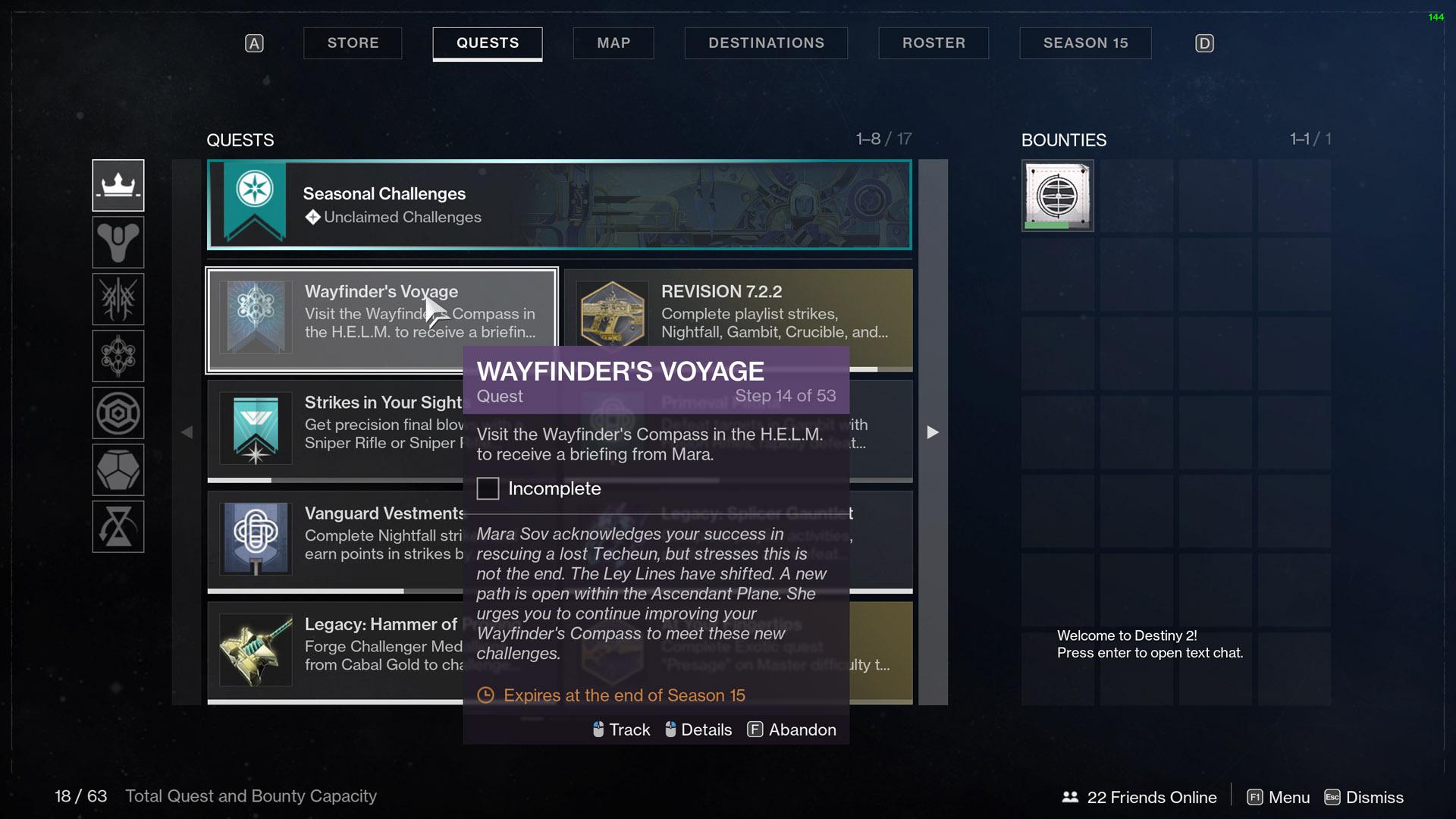 destiny 2 wayfinder's voyage part 3