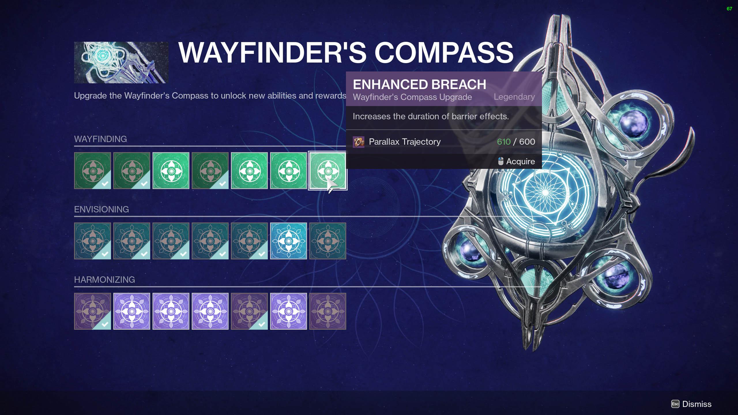 destiny 2 barrier enhanced breach