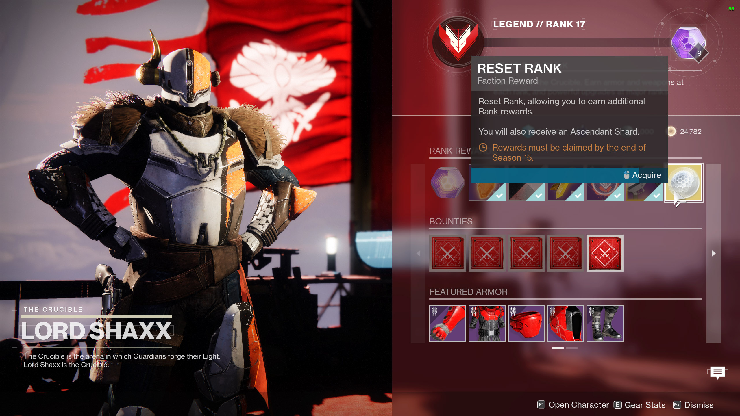 reset crucible rank destiny 2