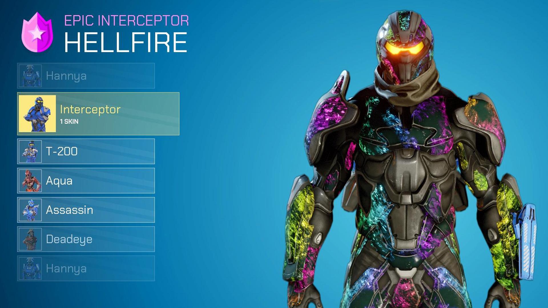 splitgate rainbow armor