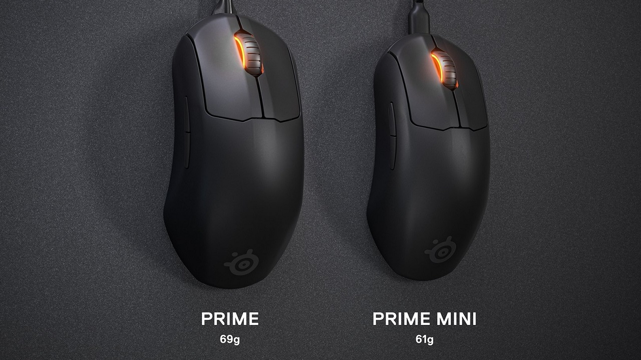The SteelSeries Prime Mini and Prime Mini Wireless mice bring even lighter and more compact form factor's to already impressively functional mice.