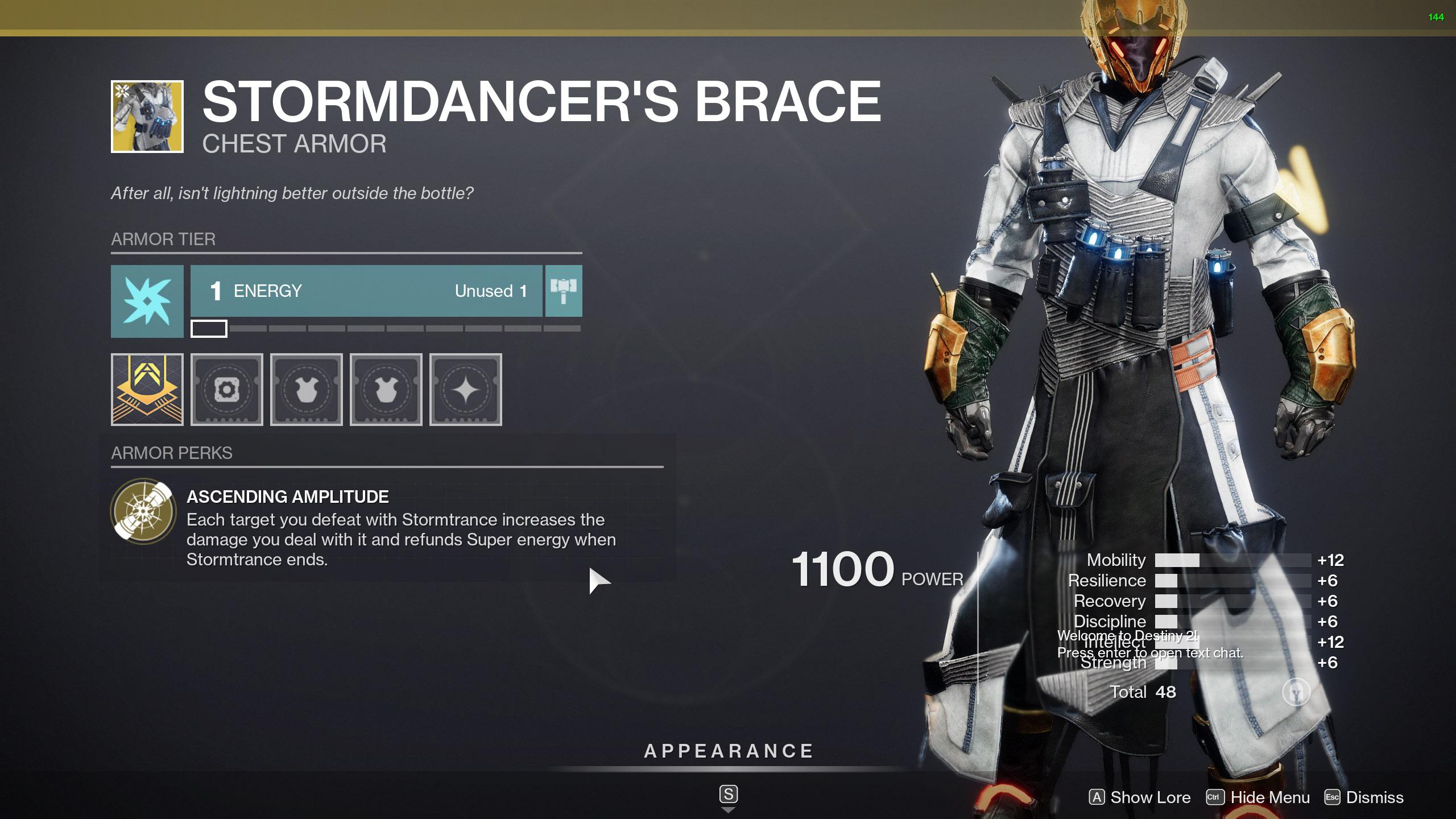 stormdancers brace 2021 destiny 2
