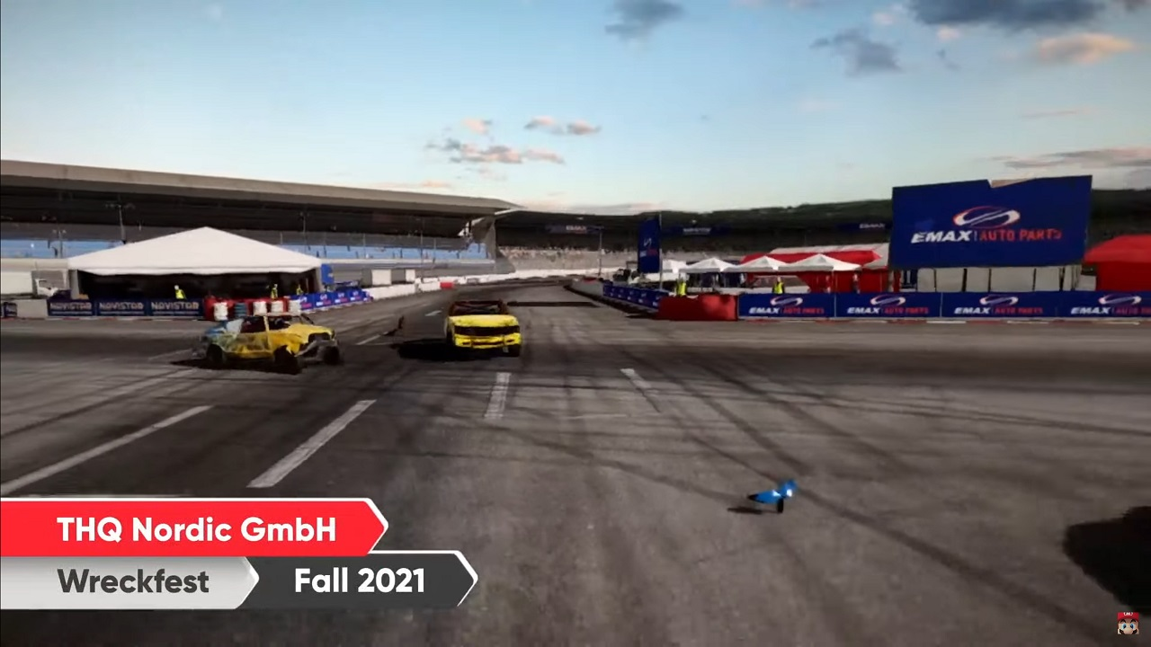 Wreckfest made a brief appearance in the Nintendo Direct September 2021 presentation's sizzle real with a fall 2021 release window.