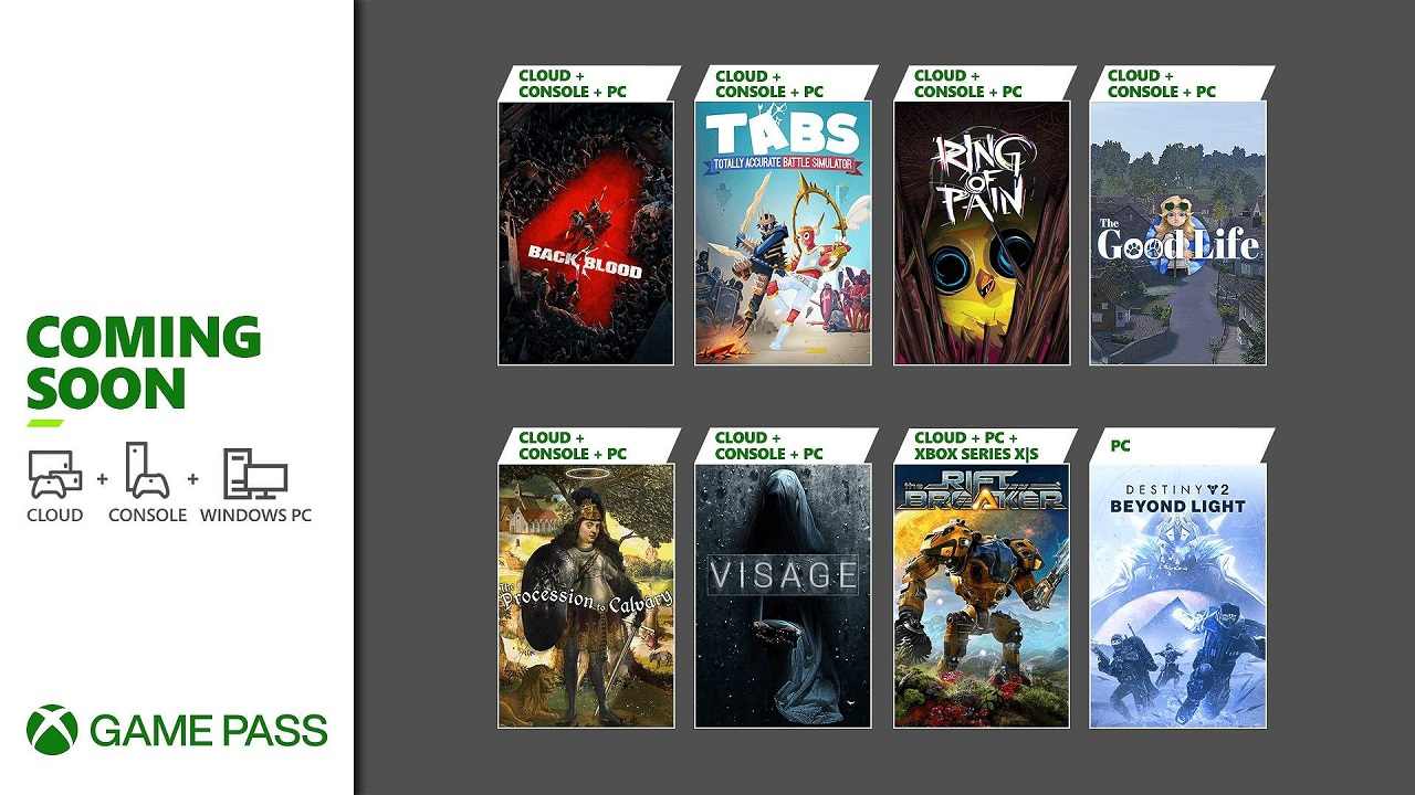 Back 4 Blood is among a fine slate of games coming to Xbox Game Pass, including Destiny 2: Beyond Light and The Good Life.