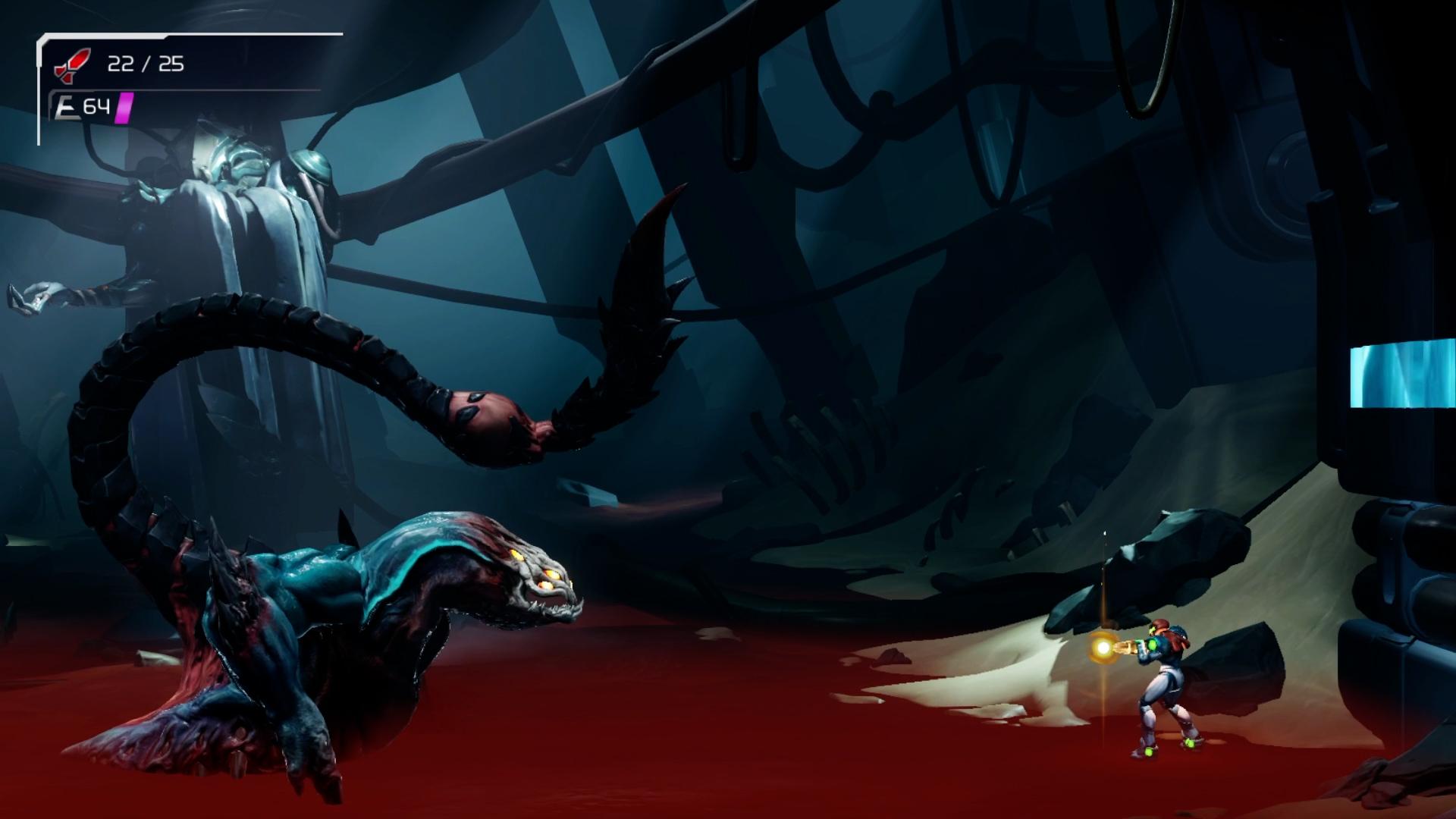 metroid dread phantom cloak boss