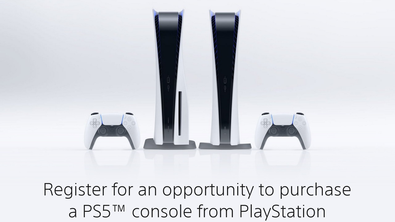 Those who register could be sent an invitation to purchase a PS5 directly from Sony over the coming months.